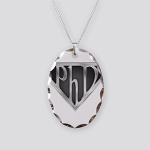 spr_phd2_chrm Necklace Oval Charm